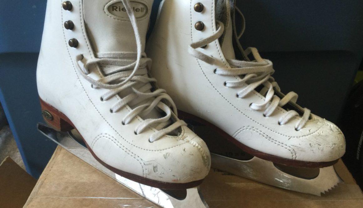 Girl's Riedell Skates Size 13.5